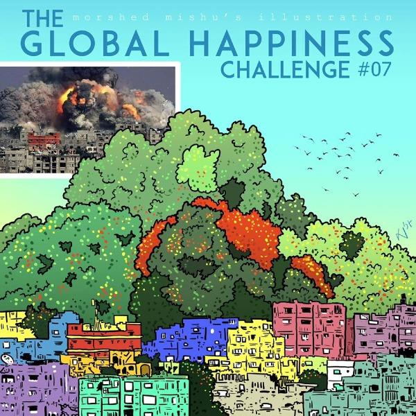 Ước mơ những thành phố đổ nát vì bom đạn trở thành chốn bình yên giàu đẹp.
