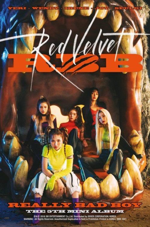 Teaser đầu tiên cho album mới của Red Velvet.