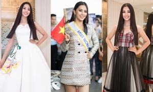 Tiểu Vy liên tục bị chê bai trang phục trước ngày thi Miss World 2018
