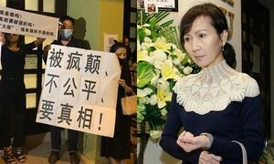 Đồng nghiệp nghẹn ngào, fan biểu tình đòi công bằng tại tang lễ Lam Khiết Anh