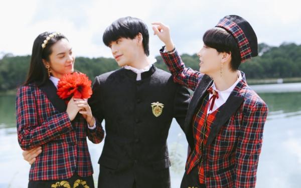 MV Màu nước mắt kể chuyện tình tay ba có bi kịch.