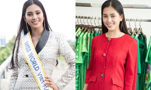 Muốn làm nên chuyện ở Miss World, Trần Tiểu Vy cần đổi ngay kiểu tóc