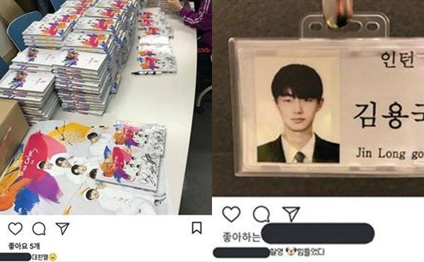Anh chàng liên tục đăng tải những lời than vãn mệt mỏi khi phải ký tặng album cho fan và ghi hình show.