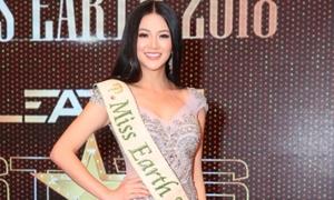 Phương Khánh: 'Mong mọi người chấp nhận tôi là Hoa hậu Trái đất'
