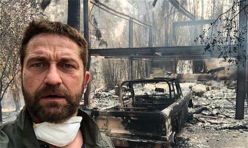 Sau đám cháy, sao Hollywood đau khổ nhìn nhà triệu đô bị cháy rụi