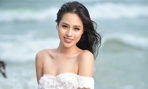 Người đẹp Hoa hậu Việt Nam khoe body tuổi 18