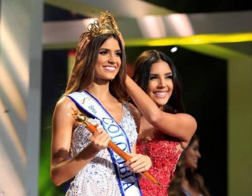 Nhan sắc đại diện Colombia tại Miss Universe 2019.