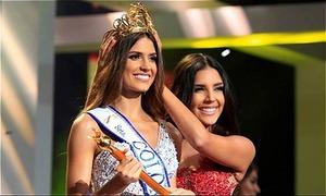 Chân dài 23 tuổi đăng quang Hoa hậu Hoàn vũ Colombia 2019