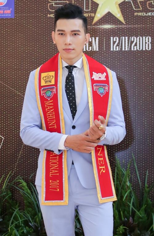 Nam vương Manhunt 2017 Trương Ngọc Tình.
