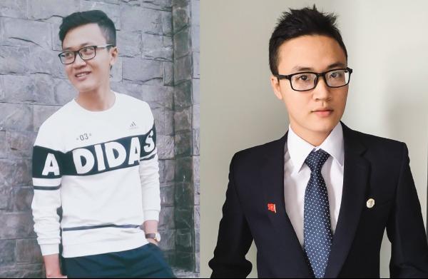 Cao Văn Minh có ngoại hình điển trai, gương mặt sáng và phong cách thời trang trẻ trung không thua kém các hotboy.