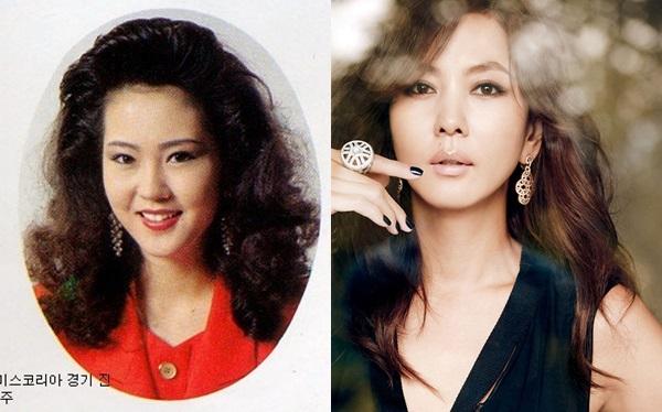 Năm 1992, Kim Nam Joo (1971) giành danh hiệu hoa khôi tỉnh Gyeonggi. Đây là bước đệm để cô theo đuổi nghề người mẫu và diễn viên. Cô là ngôi sao truyền hình nổi tiếng sauloạt tác phẩm cuối thập niên 90như Model, The Boss... Sau nhiều năm tạm ngưng diễn xuất, Kim Nam Joo trở lại màn ảnh nhỏ bằng bộ phim Queen of housewives (2009). Tác phẩm gần đây nhất của bà xã Kim Seung Woo là Misty, bộ phim giúp cô từng được đề cử Daesang tại APAN Star Awards 2018.