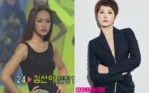 Ít ai biết rằng trước khi làm diễn viên, Kim Sun Ah (1973) đã từng tham gia cuộc thi Super Model của Hàn Quốc năm 1995. Bộ phim đình đám nhất sự nghiệp cô chính là Nàng Kim Sam Soon, tác phẩm từng gây chấn động màn ảnh xứ kim chi hè 2006. Sau nhiều bộ phim hài lãng mạn, Kim Sun Ah có bước chuyển mình đầy đột phá bằng vai diễn phản diệnPark Bo Ja trong Quý cô ưu tú (2017). Tác phẩm này được đánh giá là dự án giúp Kim Sun Ah trở lại thời kỳ đỉnh cao sau 12 năm mờ nhạt.