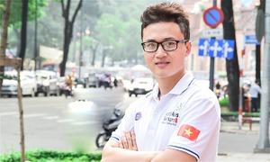 Bỏ đại học đi học nghề, trai đẹp Sài Gòn giành giải thưởng quốc tế