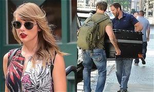 Chuyện hài của năm: Taylor Swift chui vào vali để... trốn paparazzi