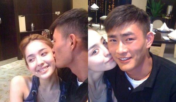 Vương Thành Cương chia sẻ ảnh hôn Cổ Lực Na Trát thời còn yêu đương mặn nồng.