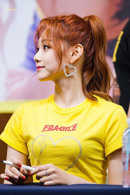 Mina sau khi giảm cân đã vụt sáng trở thành visual thế hệ mới. Cô nàng hợp với nhiều kiểu tóc khác nhau. Thành viên Gugudan đứng ở vị trí thứ 8 trong bảng xếp hạng.
