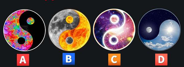 Trắc nghiệm: Biểu tượng âm dương nào đại diện cho tâm hồn bạn?