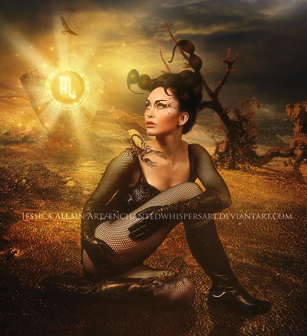 Bộ ảnh chân dung huyền ảo về 12 chòm sao - 7