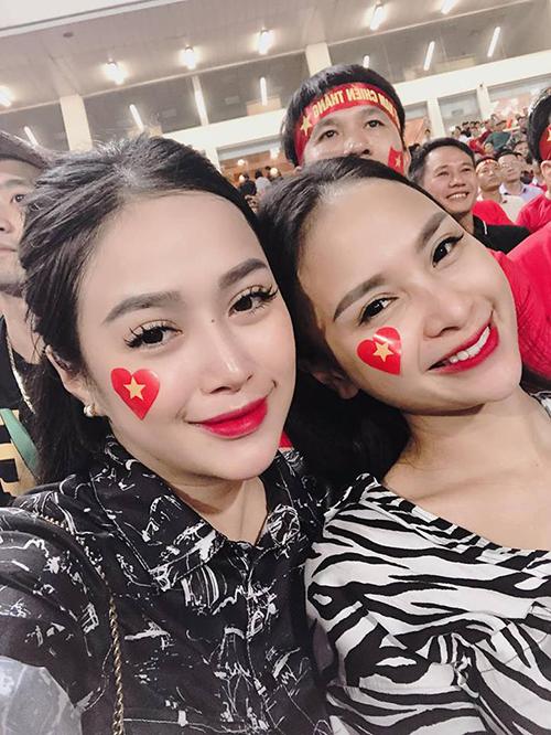 Đó là Vũ Thị Trang - cô gái yêu bóng đá từ lâu.