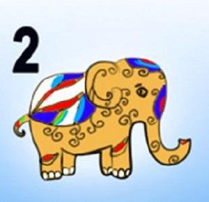 Trắc nghiệm: Chọn một chú voi sắc màu để khám phá tính cách của bạn - 1