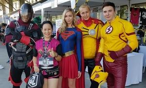 Hàng nghìn runner rủ nhau hóa siêu anh hùng, 'săn' huy chương