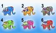 Trắc nghiệm: Chọn một chú voi sắc màu để khám phá tính cách của bạn
