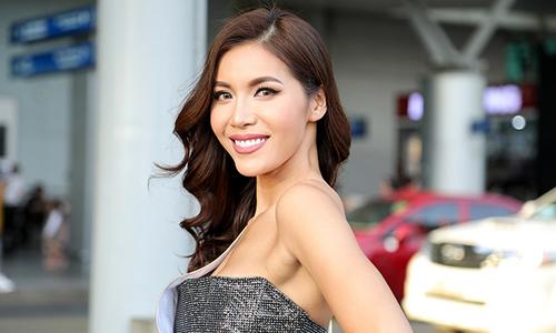 Minh Tú lên đường dự thi Hoa hậu Siêu quốc gia 2018