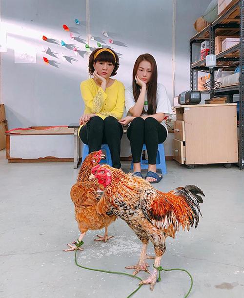 Tam Triều Dâng chống tay lên cằm suy nghĩ xem nên... thịt con gà nào trước.