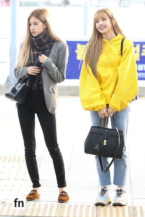 Jennie dáng to bất thường, Nancy diện đồ mát mẻ giữa trời lạnh - 7