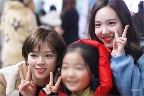 Khuôn mặt Jeong Yeon nhỏ như một em bé.