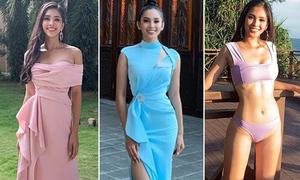 Lý do Tiểu Vy thích diện màu hồng - xanh - tím ở Miss World