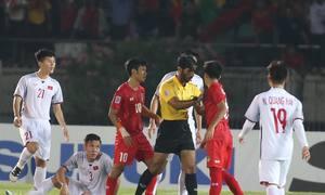 Việt Nam hòa 0-0 trước Myanmar vì bàn thắng không được công nhận