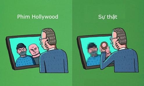 Hóa ra bao lâu nay phim Hollywood đã lừa cả thế giới