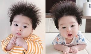 Cậu bé tóc chôm chôm Hàn Quốc nhìn là muốn nuôi vì quá kute