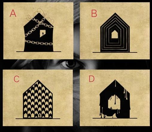 Trắc nghiệm: Ngôi nhà ma ám mở ra những bí mật trong tâm hồn bạn