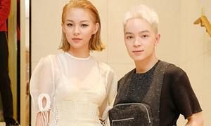 Phí Phương Anh, Kelbin Lei nhắng nhít khi dự sự kiện cùng Bi Rain