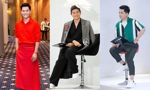 Style không kém cạnh dàn HLV nữ của Nam Trung tại The Face