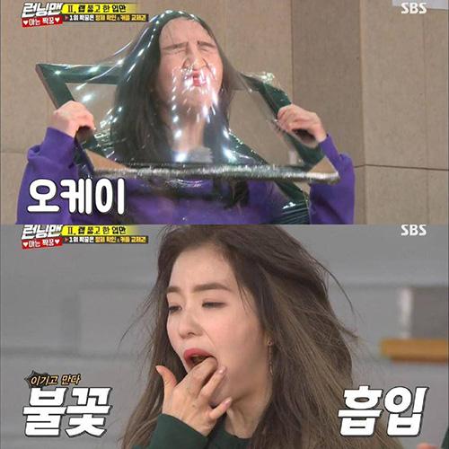 Joy và Irene khiến fan cười bò vì mất hình tượng trên show.