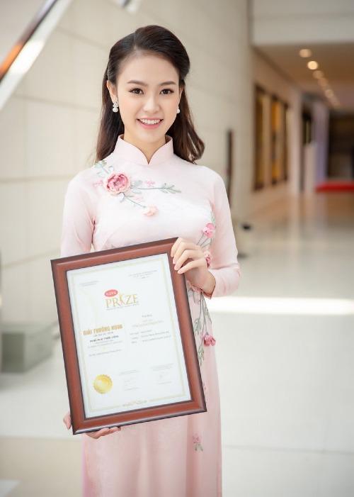 Phùng Bảo Ngọc Vân là 1 trong 12 sinh viên được nhận giải thưởng KOVA năm nay.