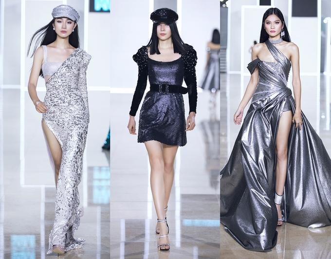 """<p class=""""Normal""""> Sàn diễn được chia làm 2 phần chính: các mẫu trang phục casual dòng Ready-to-wear và các thiết kế luxury thuộc dòng Limited Edition. Lần lượt các người mẫu mang đến các item đi từ gam nóng đến gam lạnh, từ outfit đời thường đến những bộ cánh dạ tiệc sang trọng.</p>"""