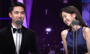 D.O (EXO) và Kim So Hyun khiến fan 'ôm tim' vì màn tái ngộ siêu đáng yêu