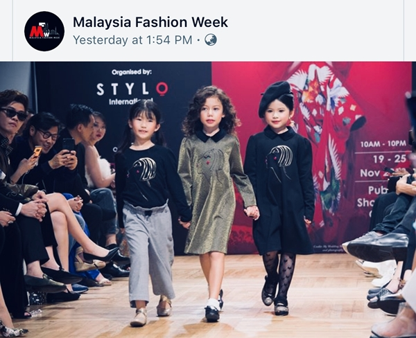 Á hậu nhí 6 tuổi gốc Việt tỏa sáng ở Tuần lễ thời trang Malaysia