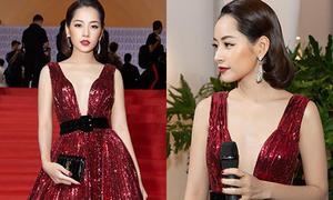 Lý giải về chiếc váy khiến Chi Pu bỗng dưng 'mất tích vòng một'