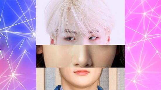 Nhận dạng idol Hàn qua mắt, mũi, miệng