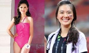 Nữ bác sĩ xinh đẹp của tuyển Thái Lan tại AFF Cup từng thi hoa hậu
