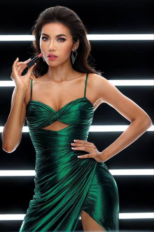 Minh Tú đang có phong độ tốt tại Hoa hậu Siêu quốc gia.