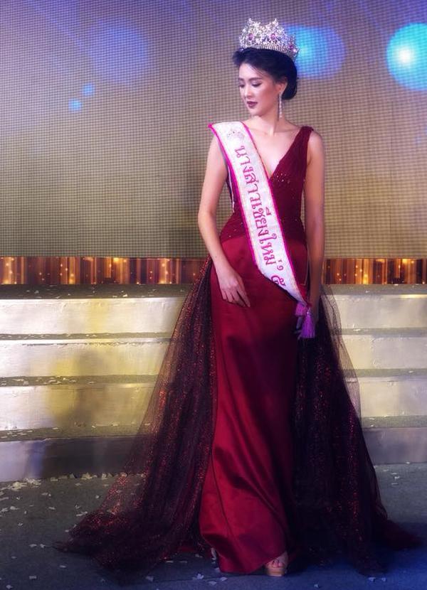 Sirin Triwutpipatkul từng thi hoa hậu.