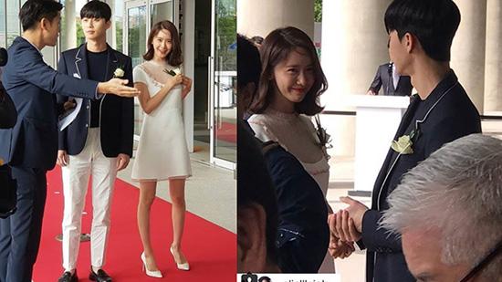Vào tháng 6/2018, Yoon Ah và Park Seo Joon cùng tham gia một sự kiến cắt băng khánh thành. Tuy không song hành nhưng hai ngôi sao vẫn gây sốt nhờ một vài khoảnh khắc đứng cạnh nhau. Nét dễ thương, ngọt ngào của của Yoon Ah được đánh giá là hợp với vẻ thanh lịch của phó chủ tịch Park Seo Joon. Netizen phấn khích trước lần gặp gỡ tình cờ của hai thần tượng hàng đầu xứ Hàn và hi vọng họ sẽ có màn hợp tác trong một tác phẩm truyền hình lãng mạn.