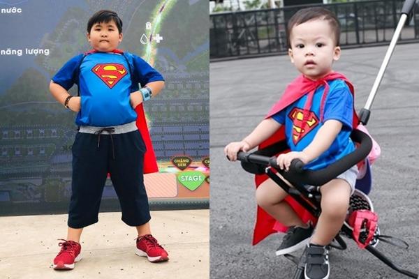 Những màn cosplay siêu anh hùng đáng yêu của các bạn nhỏ.