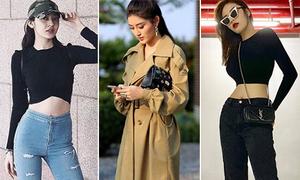 Street style sao Việt tuần qua: Người khoe eo mát mẻ, kẻ áo khoác ấm áp